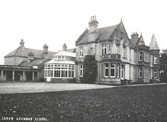 undated - Soham Grammar School at 'Beechurst', note the Conservatory and the Cloisters.