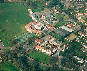 Soham Village College 2001 - click for a larger image